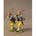 CSHZ-05 Two Infantry Advancing, South Carolina Zouave Volunteers