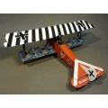 ACE035B Fokker DVII Udet, Black and White Top Wing