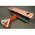 ACE035R Fokker DVII Udet, Red and White Top Wing