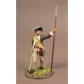SCAN-02B Officer 1st Canadian Regiment, Continental Army