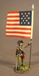 SNY-02B Infantry Officer with National Colors, 2nd New York Regiment