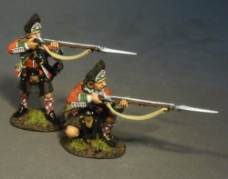 BR77H-02 Two Grenadiers Skirmishing 77th Regiment of Foot