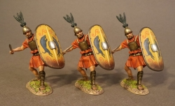 HMRR12YN 3 Hastatus with Yellow Shield, The Roman Army of the Mid-Republic