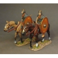 ROMCAV02 Two Roman Auxiliary Cavalry  Red Shield #2