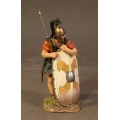 RR-04W  Legionnaire Leaning on Scutum, Roman Army of the Late Republic