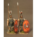 TMRR-01R Two Triarii Standing, Roman Army of the Mid Republic