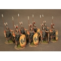 TMRRBS-01Y Eight Triarii Standing, Roman Army of the Mid Republic