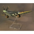 RAF01B Supermarine Spitfire MK.IXc MK329, w/Commander J. E. Johnson with beer kegs