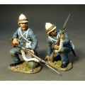RML007 Two Royal Marines Kneeling