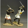 SUD-09 2 Mahdists with two Handed Swords