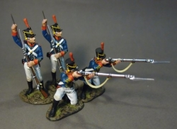1812M-03N US Marines Loading and Firing (4 figs)