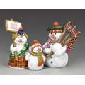 XM016-02 Pre Order The Snowman Family