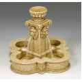 SP072 Four Lions Town Fountain - Sandstone