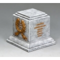SP074 Square Statue Plinth  - greystone