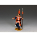 IC070 Imperial Chinese Standing Guard Pointing