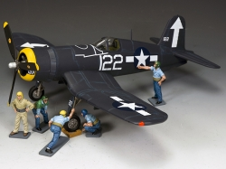 SGS-USN001 Getting Ready to Fly - US Corsair and deck crew - Value Set