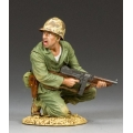 USMC013 Marine Officer w/Tommy Gun
