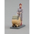 HF003B Lady with Pram (pavement base)