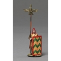 XE012C Persian Immortal Standard Bearer with Bronze Banner