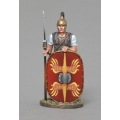 REP001B Republican Roman with Leaping Wolf Design Shield
