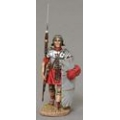 ROM050A Marching Legionnaire with Sack Cloth Shield Cover