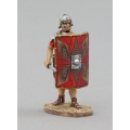 ROM110A Roman Shield Wall - Traditional Red Shield