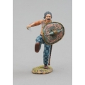ROMEN006B Ancient Briton Barbarian with Green Shield