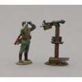 GW083A German Infanteer with Maxim Machine Gun - Pickelhaube