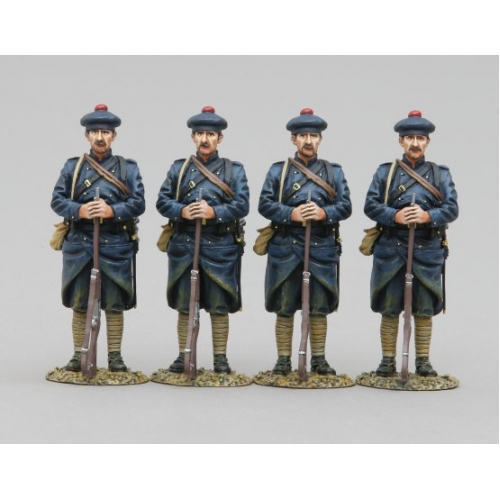 The Military Workshop - GW091D 4 French Marine Infantry Sentry
