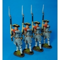 QF36N 4 French Regiment de Bearn at ready