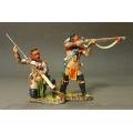 RR31A Woodland Indians Skirmishing #1A