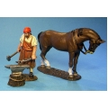 RRB03 Blacksmith with horse