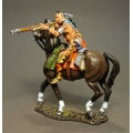 RSF21A Mounted Woodland Indian, Firing Musket #1