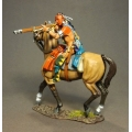 RSF21B Mounted Woodland Indian, Firing Musket #2