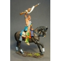 RSF22A Woodland Indian with Raised Musket #1
