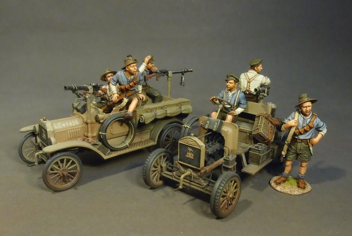 The Military Workshop - WAD Jenkins Australian 1st Light Car Patrol